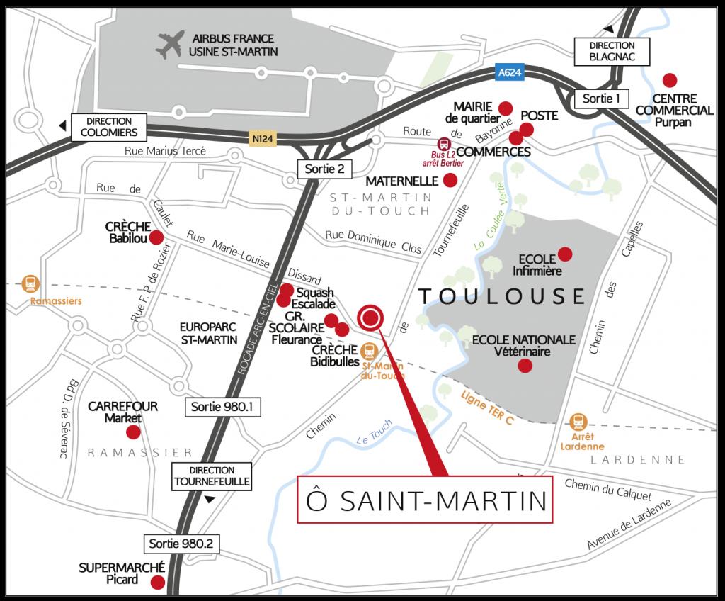 Plan O St-Martin